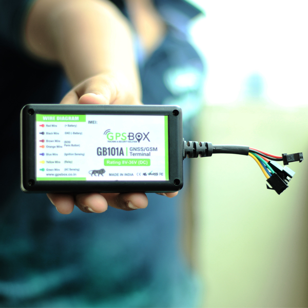 GB101 – GPS BOX – Customised GPS Tracking Solution | Made In India
